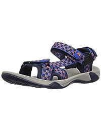 Kamik Boys' LOWTIDE2 Sandal, Blue, 13 M US Little Kid