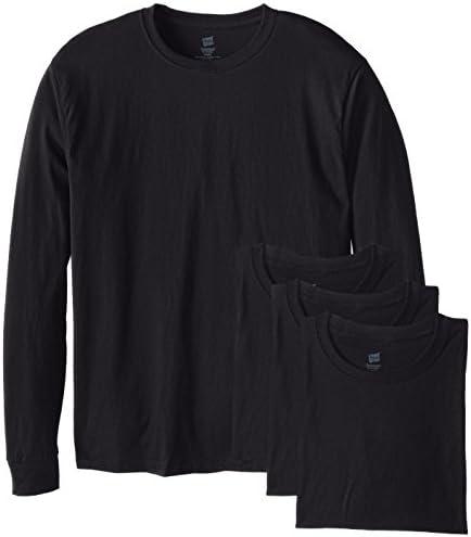 C/&H Mens Solid Tunic Top Tee Long-Sleeve Zip T-Shirt