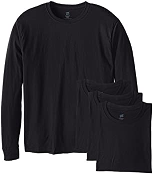 4-Pack Hanes Men's Long-Sleeve ComfortSoft T-Shirt