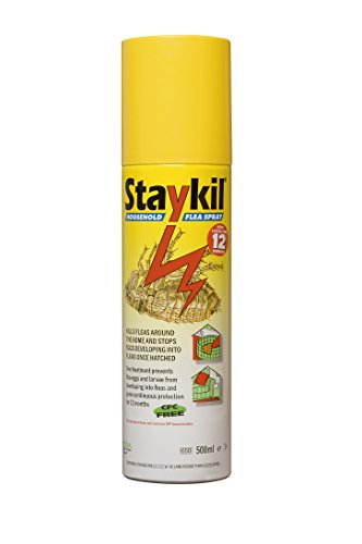 Staykil Plus Household Flea Spray, 500ml Aerosol
