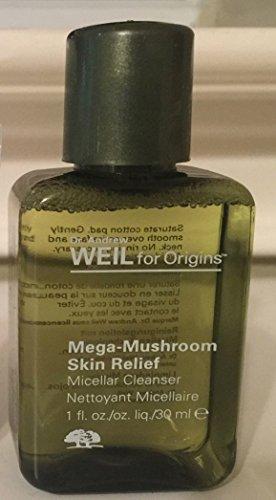 Lot of 2 Origins Dr. Andrew Weil for Origins™ Mega-Mushroom Skin Relief Micellar Cleanser 1 oz/Each (Total 2*1 oz = 2 oz)
