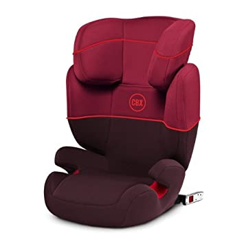 CBX By CYBEX Free Fix Toddler Car Seat Group 2 3 Rumba Red