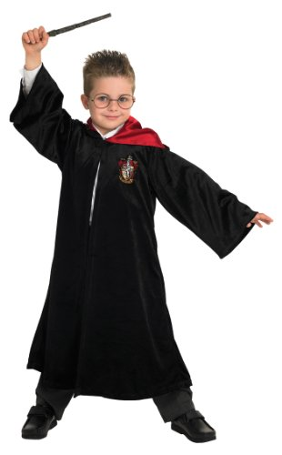 Amazon.com: Childrens Harry Potter disfraz mago niño ...