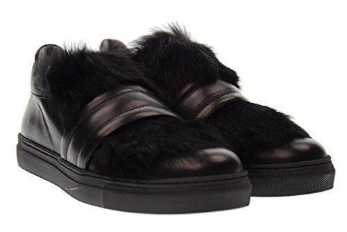 Femme black Noir MORELLI B54829 de Baskets Chaussures Basses Pour 0qHw840n