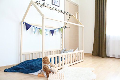 House bed, bed house, montessori bed, wood bed, kid's furniture, kids bedroom, house bed frame, wood house, nursery bed house, TWIN Size by Sweet Home from Wood