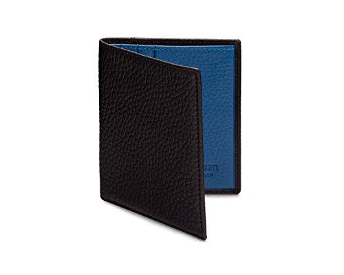Compacto Billetero Cobalto Billetera Con Negro Sagebrown pBqECxw5