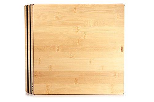 TOAST - Tapa autoadhesiva de madera real para Sony PlayStation 4 Pro - Bamboo