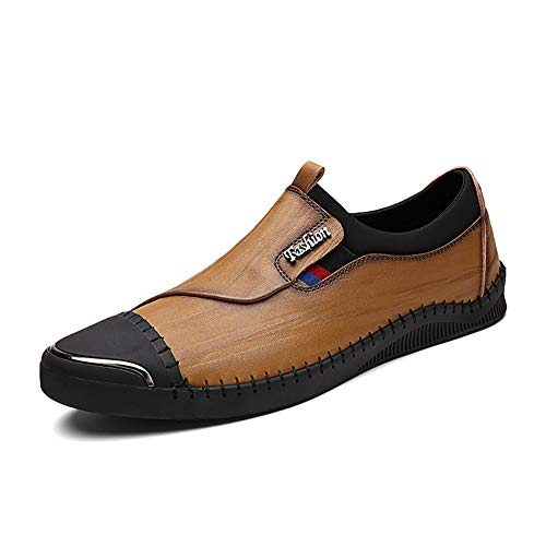 E ONS Scarpe Da Business Sneakers Slip Basse Casual Scarpe Retr Mocassini Da FHTD Uomo Formale Guida zv04Sxq