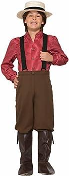 Forum Novelties Boys Pioneer Costume, Multicolor, Large 1