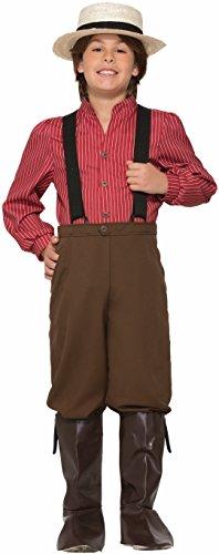 Forum Novelties Boys Pioneer Costume, Multicolor,