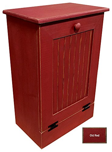 red trash can - 6