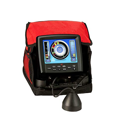 Ice Fishing Fish Finder LX-7 Digital Sonar System 8 Inch LCD Dual Beam with Ebook
