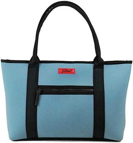 トートバッグ 鞄 カバン 無地 JiBas ジバス ライトブルー水色 614