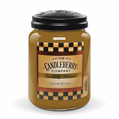 Candleberry Creme Brulee 26oz. Jar (Scents Candle Buy)