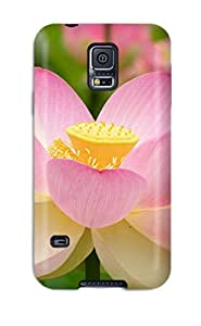 High Quality MlaHdsc5579sJAYt Nelumno Nucifera Open Flower Tpu Case For Galaxy S5 by icecream design