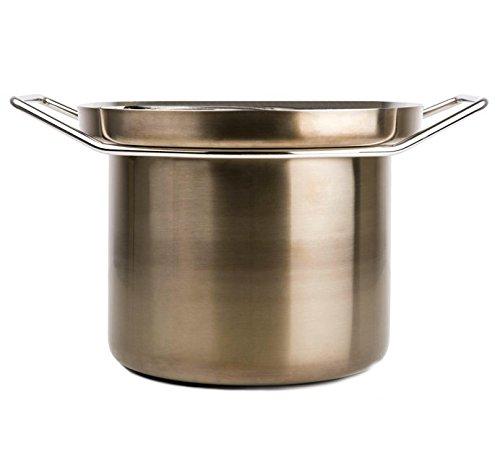 KnIndustrie Foodwear - Pasta Pot Ø10.2 Bronze by Knindustrie