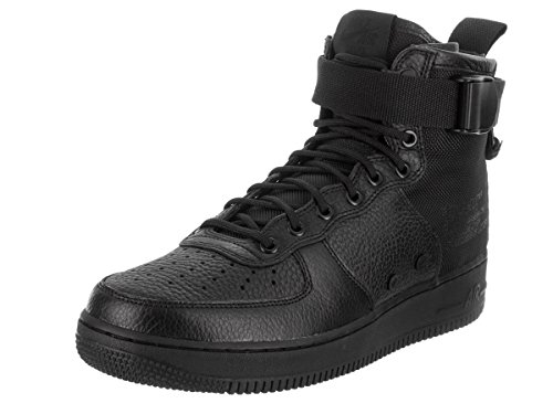 Nike Sf Af1 Mid Mens Fashion-sneakers 917753-005_11.5 - Nero / Nero-nero
