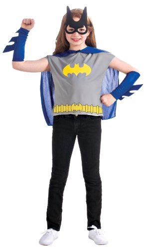 - 416aGqC G8L - DC Comics, Batgirl Costume Dress Up Set by Rubie's