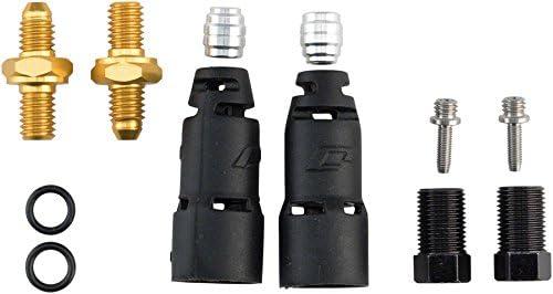 Negro Jagwire Pro Quick-FIT Adapter-avid Elixir Kit de empalmes Unisex