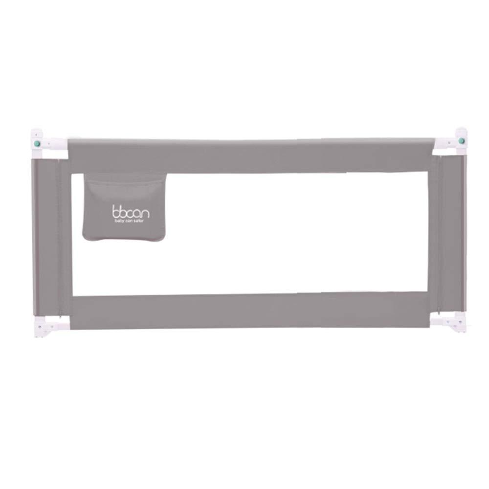 LHA ベッドガードフェンス ベッドフェンスベビーフロアフェンス45度ベースデザイン丈夫で信頼性の高い垂直リフト - グレー (サイズ さいず : L-180cm) L-180cm  B07RW2BY42