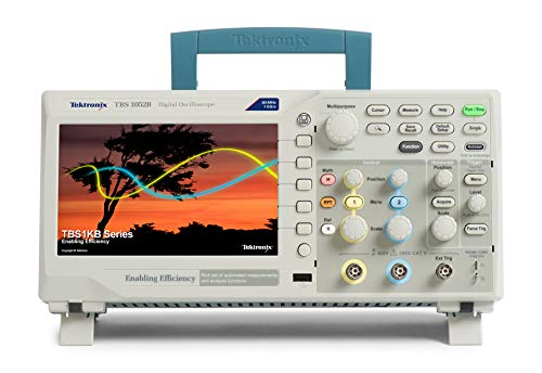 Tektronix TBS1052B Digital Storage Oscilloscope, 2 Channel, 50 MHz Bandwidth, 5 Year - Oscilloscope Digital Analog