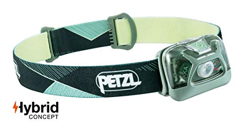 PETZL - Tikka Headlamp, 300 Lumens, Standard Lighting, Green