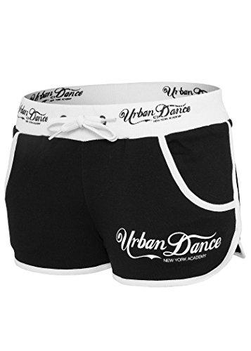 Urban Dance - ACADEMY Hotpants noir / blanc