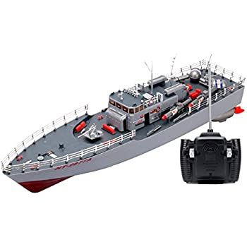 Amazon Com Rc Missile Warship Radio Remote Control Ht