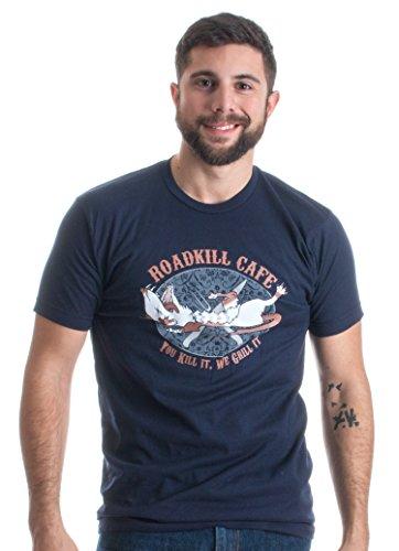 Roadkill Cafe | Funny Hillbilly Redneck Hunting Grandpa Humor Unisex T-shirt