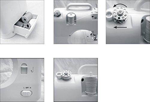 Prixton Nähmaschine P110 Nähmaschine: Amazon.de: Küche & Haushalt