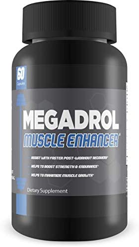 Megadrol- Ultimate Muscle Enhancing Supplement- Promotes Quicker Recovery- Boost Strength and Endurance- Maximize Muscle Growth