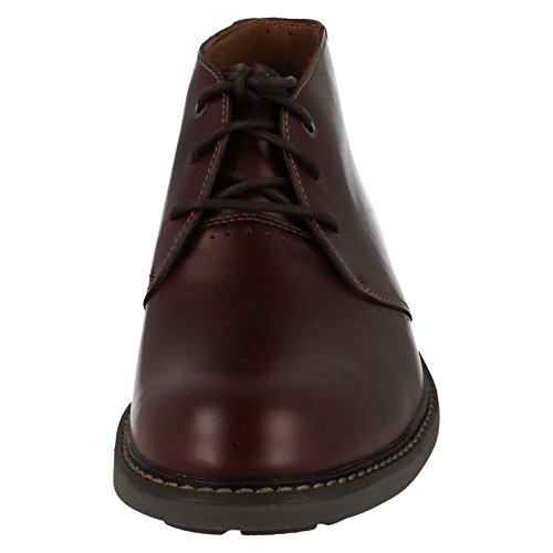 Unelott Mid - Burgundy Leather Burgundy