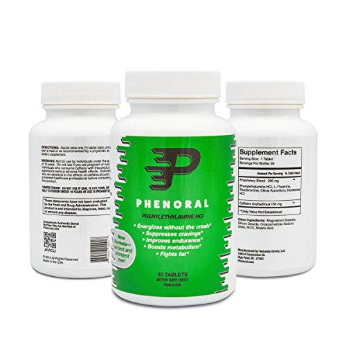 Phenoral Weight Loss Diet Pill Appetite Suppressant And Energy Boost Your Metabolism While Eating Less