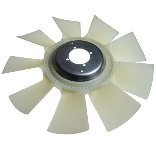 Engine Cooling Fan Blade for Chevrolet Silverado 2500 HD 3500 HD GMC Sierra 2500 HD 3500 HD Classic 6.6L Turbo