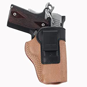 Galco Scout Clip On Inside Pant Holster for 1911 5-Inch Colt, Kimber, Para, Springfield (Black, Right-hand)