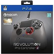 Controle Revolution PRO NACON V2 RIG Edição Limitada Gamepad - PS4 Playstation 4 eSports/Fighting - Titanium/Black