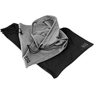Microfiber Pouch 10 x 14 Inch (2 Pack) - Soft Cloth Storage Bags for 11 Inch Tablets & iPad Pro/Air- Digital Camera Accessories & Electronic Gadgets - Optical Grade Fabric - Black & Dark Grey