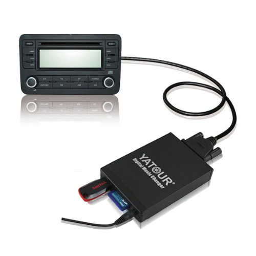 Car Digital Music Changer USB SD MP3 for Renault SERIES: 1998 - 2004 Clio 2000 - 2010 Kangoo 2003 - 2008 Megane 2003 - 2008 Scenic 2001 - 2007 Laguna 2002 - 2011 Espace 2000 - 2008 Traffic 2007 - 2011 Twingo