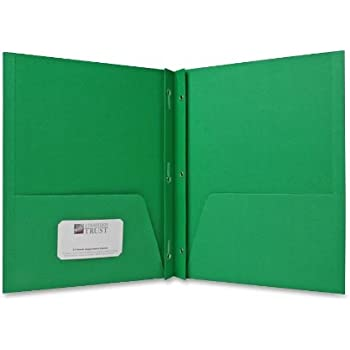 Amazon Com Sparco 2 Pocket Folders With Fasteners 1 2