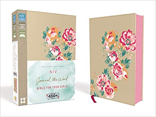 NIV Journal the Word Bible for Teen girls