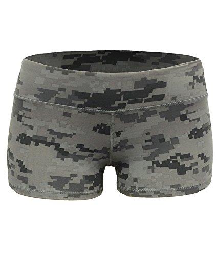 Yoga Shorts   Booty Shorts 2  Inseam  M  Digital Camo