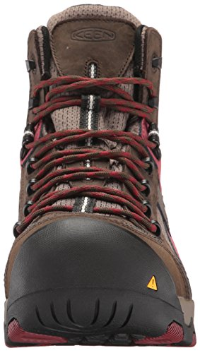 WP Mid Industrial D Keen Cascade Utility Red 10 5 Shoe Davenport Dahlia Construction Brown Mens and US tHqtI1Sxw