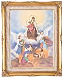 Our Lady of Mount Carmel Framed Art