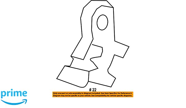 81342-SZA-A01ZC Honda Genuine Seat Bracket Cover