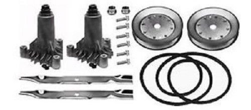 Flat Mower Blade (CRAFTSMAN LT1000 MOWERS REBUILD KIT 130794 134149 144959 153535 FOR HUSQVARNA Yard, Garden & Outdoor Living,Lawnmowers)