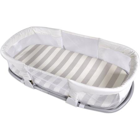 Summer Infant By Your Side Comfort Sleeper, Stripes Gray