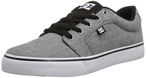 UPC 888327103914, DC Men's Anvil TX SE Skate Shoe, Grey/Grey/Black, 10.5 D US