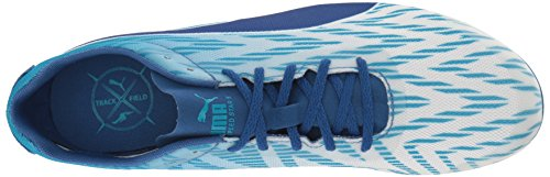 Puma evoSPEED Star 5 Synthetik Klampen White-Blue Danube-True Blue