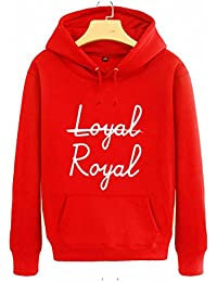Autumn spring arrival boys stage same hoodie loyal royal printing pullover sweatshirt men women