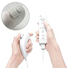 Remote Controller and Nunchuk Combo Bundle Set for Nintendo Wii